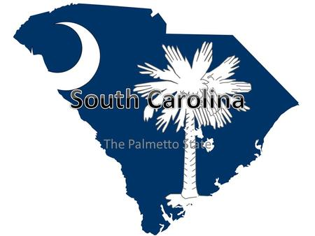 The Palmetto State. Capital: Columbia 32,020 Square Miles Total population: 4,774,839.