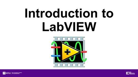 Introduction to LabVIEW. Overview Objectives Background Materials Procedure Report/Presentation Closing.