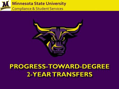 Minnesota State University Compliance & Student Services.