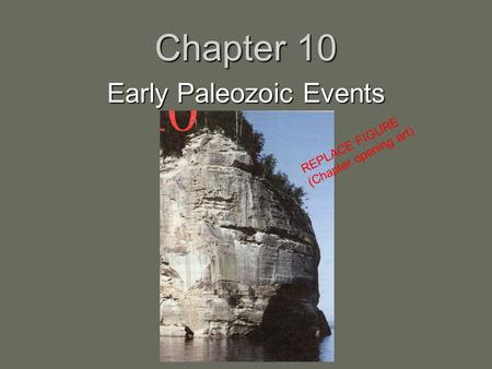 Early Paleozoic Events
