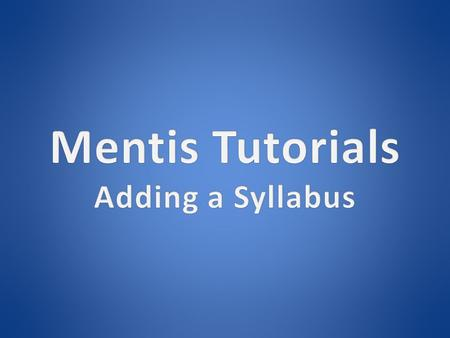  Open your browser and navigate to https://www.uta.edu/mentis https://www.uta.edu/mentis.