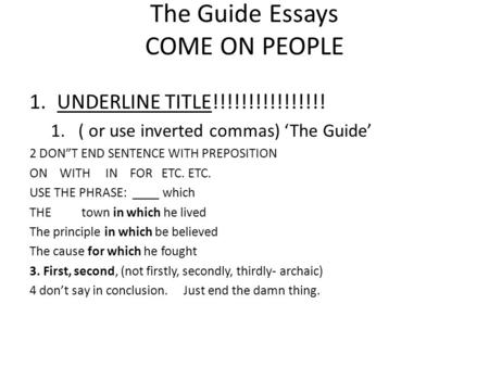 compare and contrast essay conclusion example