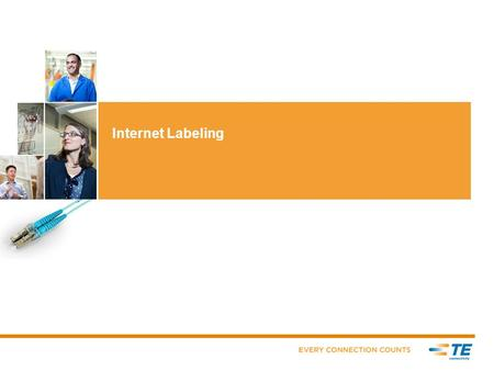 Internet Labeling. Table of Contents  Page 3 – What is Internet Labeling (IL)  Page 4 - Benefits / Access  Page 5 – Systems Requirements  Page 6 –