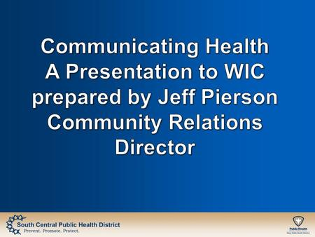 When communication is used strategically to disseminate messages related to health, make people aware about diseases, encourage them to adopt health practices,