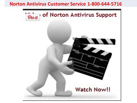 Click to edit Master subtitle style Norton Antivirus Customer Service 1-800-644-5716.