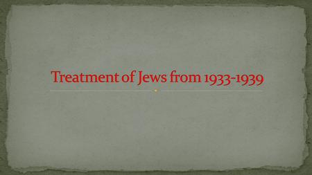 Reasons for anti-Semitism Anti-Semitism common in Europe for many centuries Anti-Semitism common in Europe for many centuries Jews were associated with.