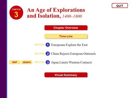 3 An Age of Explorations and Isolation, 1400–1800