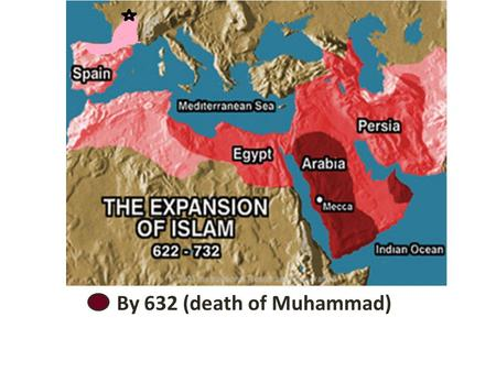 By 632 (death of Muhammad). By 661 (within another 30 years)