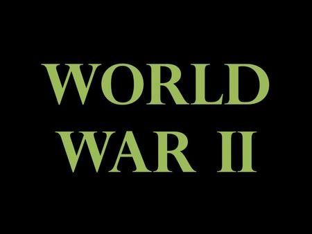 World War II. Nazi State Third Reich 1933-1945 Reich=Empire What were the two other empires before this one? Why was the Nazi Party so popular and successful.