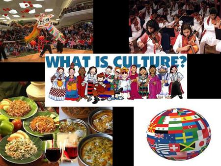 What is Culture?  8Rcs  8Rcs  Aw