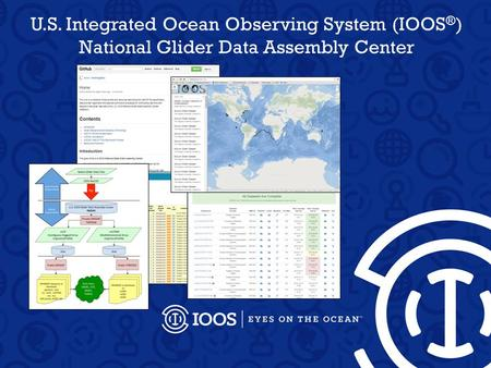 U.S. Integrated Ocean Observing System (IOOS ® ) National Glider Data Assembly Center.