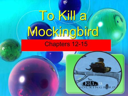 To Kill A Mockingbird Chapter work. Chapter 1  What do you learn ...