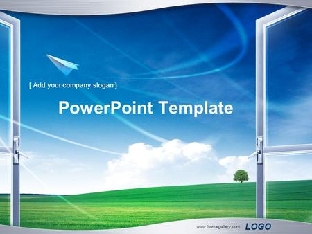 LOGO www.themegallery.com PowerPoint Template [ Add your company slogan ]