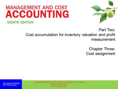 cost management accounting assignment solution Access cost accounting 14th edition solutions now management accounting: no need to wait for office hours or assignments to be graded to find out where you.
