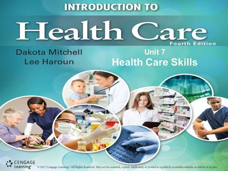 Unit 7 Health Care Skills. Chapter 20 Physical Assessment.
