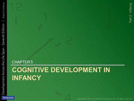 COGNITIVE DEVELOPMENT IN INFANCY CHAPTER 5. Learning Objectives.