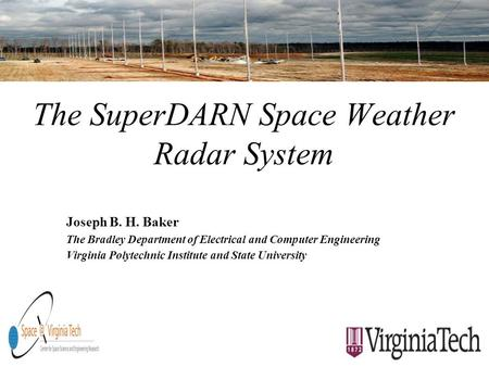 The SuperDARN Space Weather Radar System