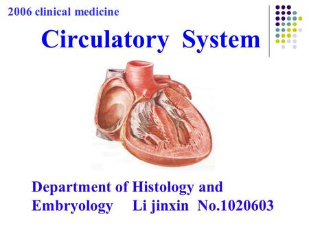 2006 clinical medicine Circulatory  System
