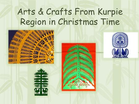 Arts & Crafts From Kurpie Region in Christmas Time.