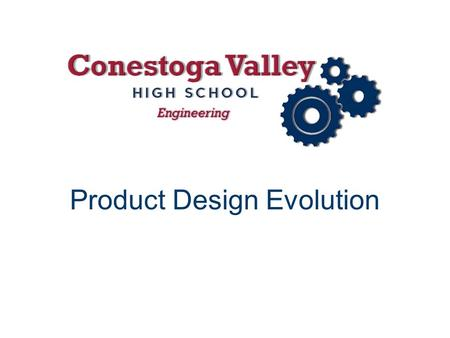 "Product Design Evolution. Evolution of Product Design Questions What comes to mind when you hear the word ""evolution""? Why is it important to research."