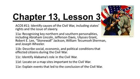 the effects of slavery on the civil war