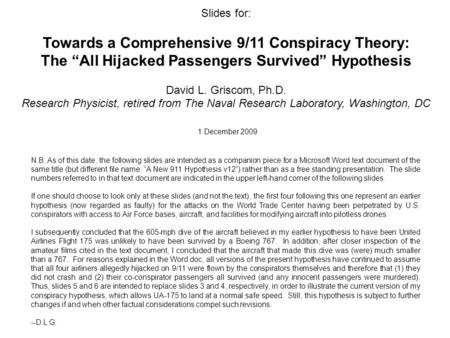 911 conspiracy research paper 911 conspiracy research paper - let professionals do their responsibilities: get the required task here and expect for the highest score why worry about the essay order the necessary guidance on the website qualified scholars engaged in the company will accomplish your task within the deadline.