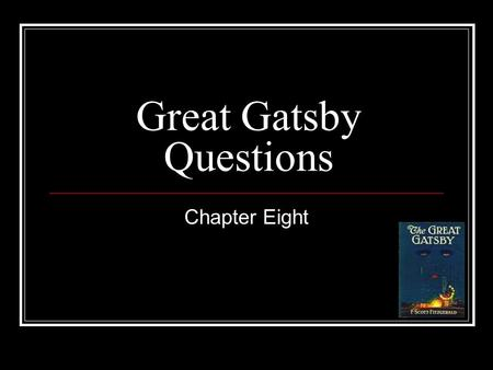 great gatsby how does fitzgerald tell A summary of chapter 3 in f scott fitzgerald's the great gatsby learn exactly what happened in this chapter, scene, or section of the great gatsby and what it means.