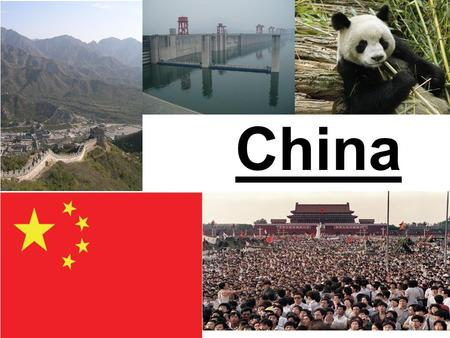 China. A) Landscapes World's 4th largest country land area wise. China is divided into 23 provinces, 5 autonomous regions, and 4 municipalities. Tall.