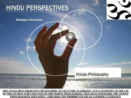 Hindu Perspectives Hindu Philosophy Dialogue Education