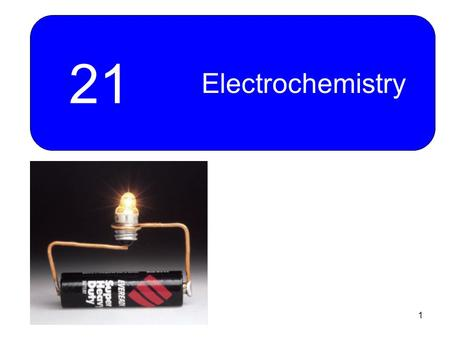 1 21 Electrochemistry. 2 Counting Electrons: Coulometry and Faraday's Law of Electrolysis Example 21-1: Calculate the mass of palladium produced by the.