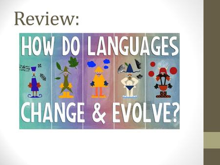 Review:. Language Chapter 5 KI 4 Language Diversity Numerous countries throughout the world operate with multiple languages. Some are effective and some.