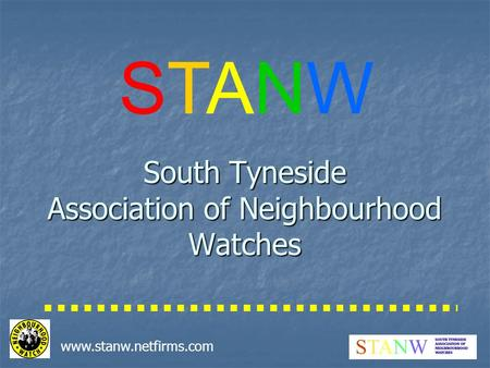 Www.stanw.netfirms.com South Tyneside Association of Neighbourhood Watches STANWSTANW.