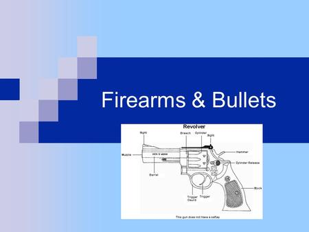 Firearms & Bullets.