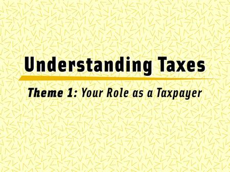 JOURNAL 3/8/2016 What are taxes? How are they used? Name one way in which people paying their taxes has influenced your life today.