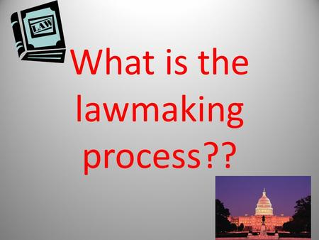 What is the lawmaking process??. Expressed: Those powers that are specifically listed in the Constitution of the United States Implied: Not listed, but.