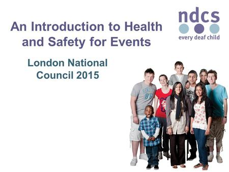 An Introduction to Health and Safety for Events London National Council 2015.