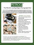 TM The World's Leading Digital Petrography Tool PETROG TM is a petrographic textural and compositional analysis tool for the oil industry, which can be.