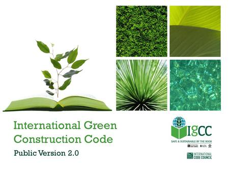 International Green Construction Code Public Version 2.0.