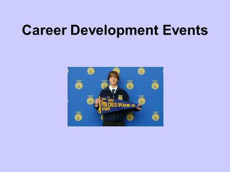 Career Development Events Common Core/Next Generation Science Standards Addressed! WHST.9-12.9 Draw evidence from informational texts to support analysis,