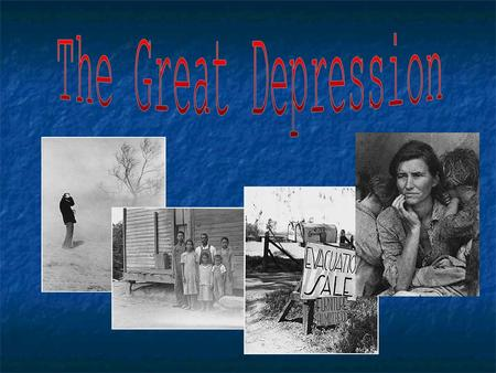 Long term effects of the great depression