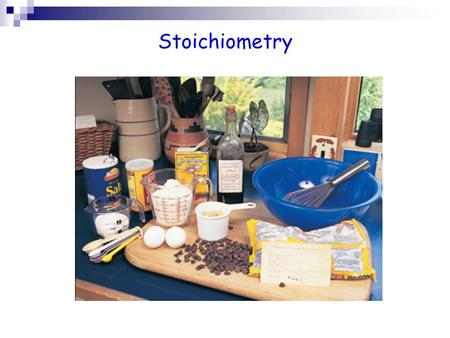 Stoichiometry. Stoichiometry is the study of the mass relationships of the reactants and the products in a chemical reaction. How much stuff it takes.