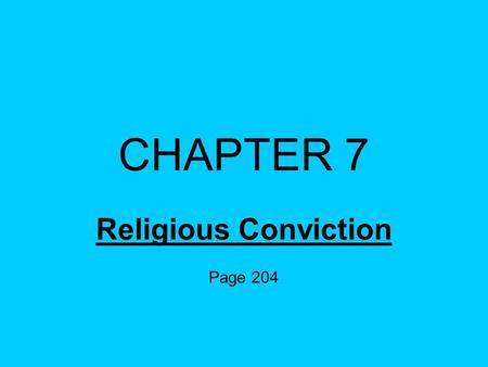 Religious Conviction Page 204