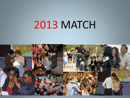 2013 MATCH. 4 Major Matches OPHTHALMOLOGY  UROLOGY  y-match.cfm#interviews.