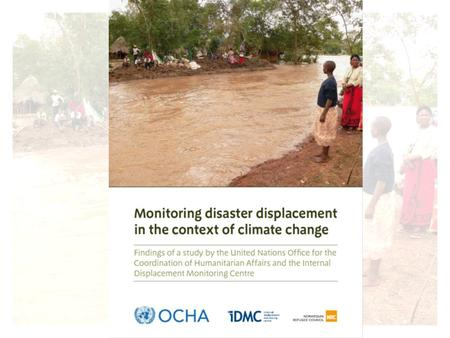 Aims: The study had two main aims: a) attempt to explore the scale of forced displacement caused by natural disasters in 2008 in a systematic way, including.