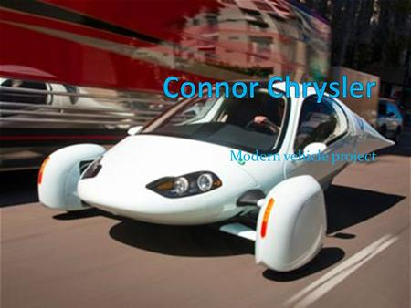 Modern vehicle project. The product Sports equipment.