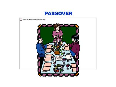 PASSOVER. PASSOVER, OR PESACH IS THE JEWISH SPRING FESTIVAL - IT CELEBRATES THE FREEDOM OF THE JEWISH PEOPLE FROM SLAVERY IN EGYPT.