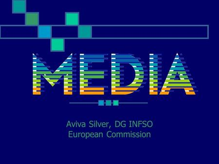 Aviva Silver, DG INFSO European Commission. Digital revolution Sound in the 70's Post-production chain Production: new cameras, low-budget films Distribution: