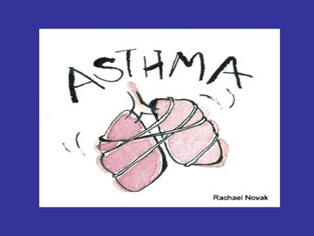 ASTHMA Definition: Asthma is a chronic lung disease due to inflammation of the airways resulted into airway obstruction. The obstruction is reversible.
