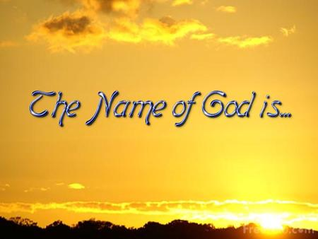 O LORD, our Lord, How excellent is Your name in all the earth! (Psalm 8:9)