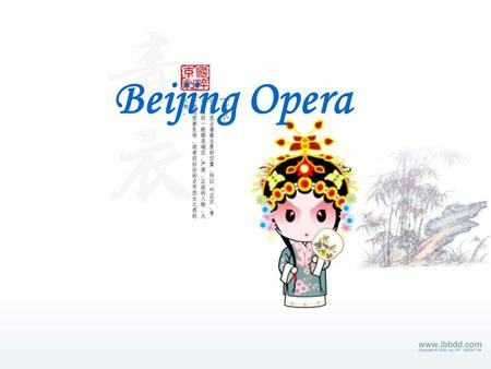Beijing Opera What do you know about Beijing Opera? Please work in pairs to do Ex.1.